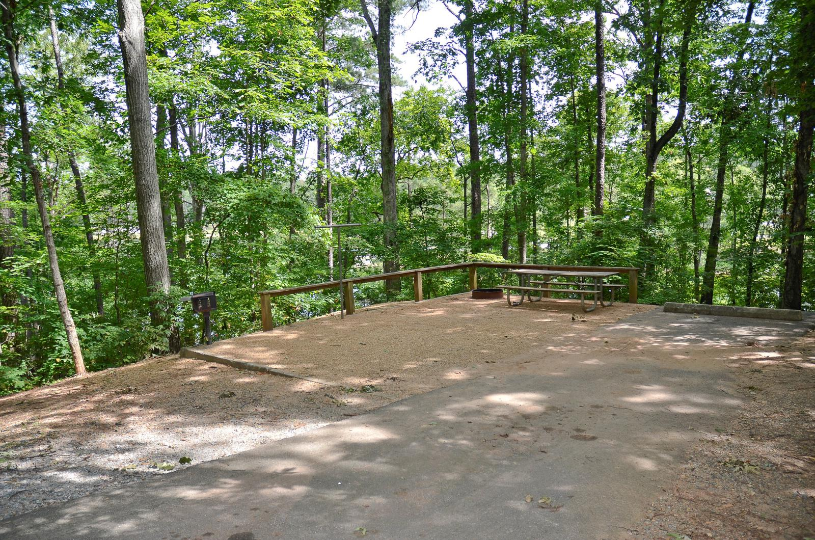McKinney Campground Site 8