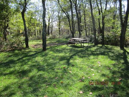 Loft Mountain Campground - Site 24