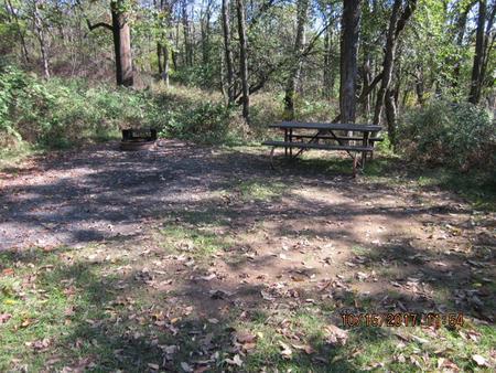 Loft Mountain Campground - Site 30