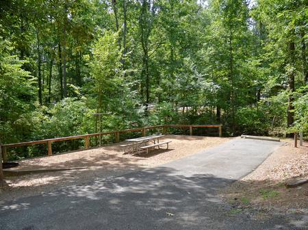 McKinney Campground Site 14