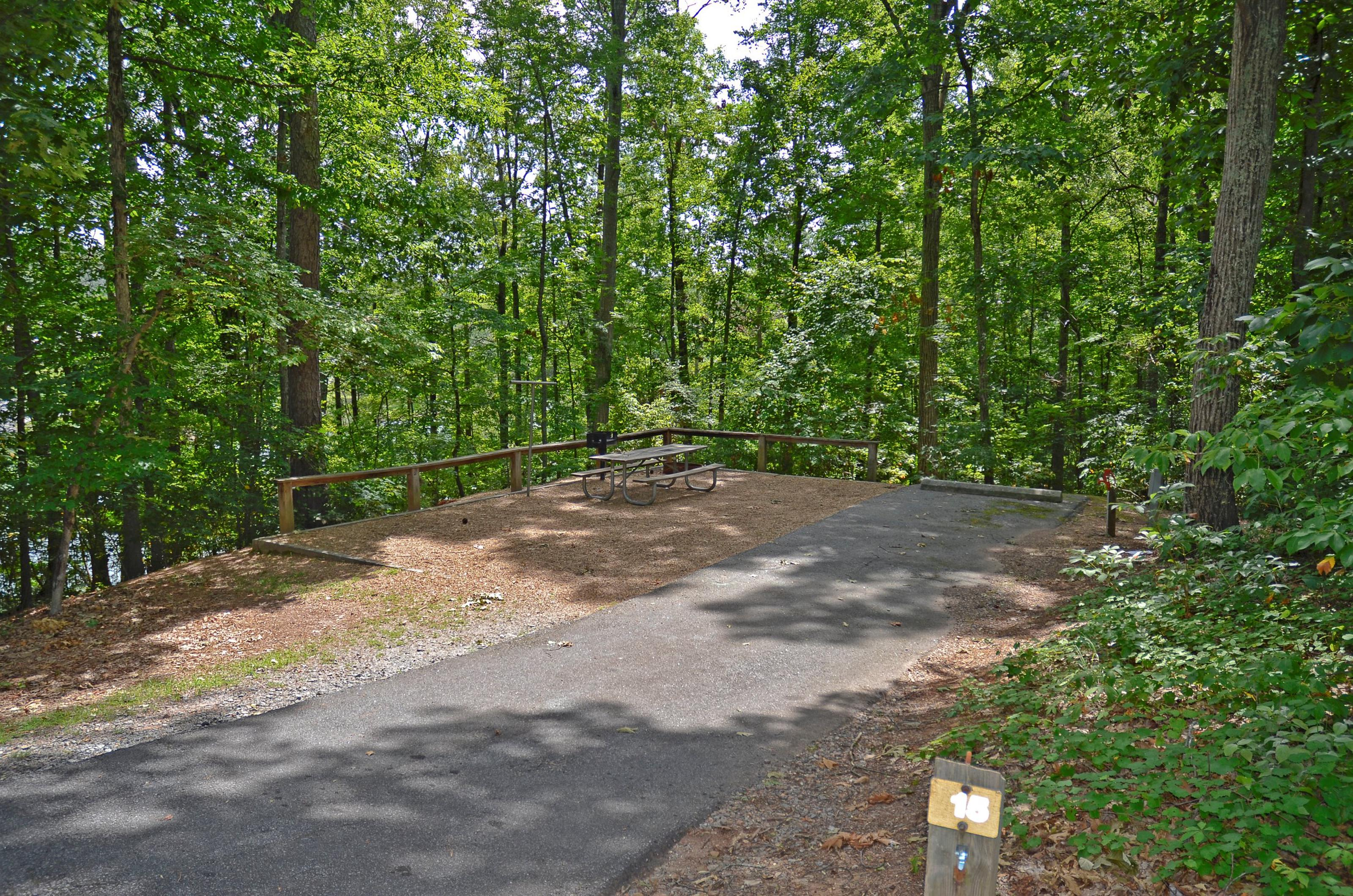 McKinney Campground Site 15