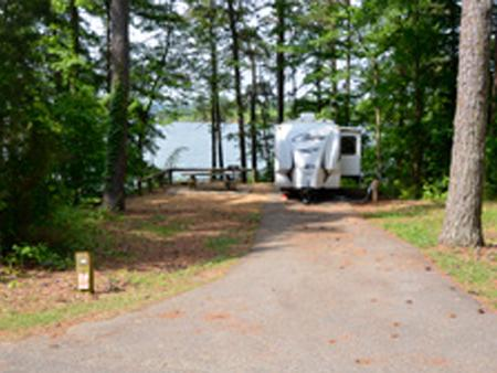 Victoria Campground, campsite 14