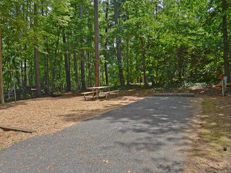 McKinney Campground Site 23