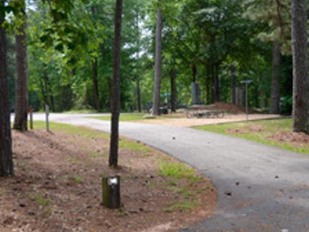 Victoria Campground Site 16.Victoria Campground Site 16