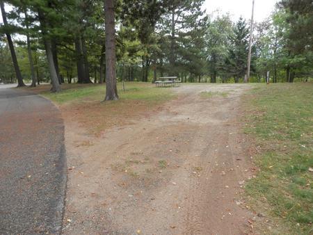 Sandy Lake - Campsite 28Sandy Lake Site 28