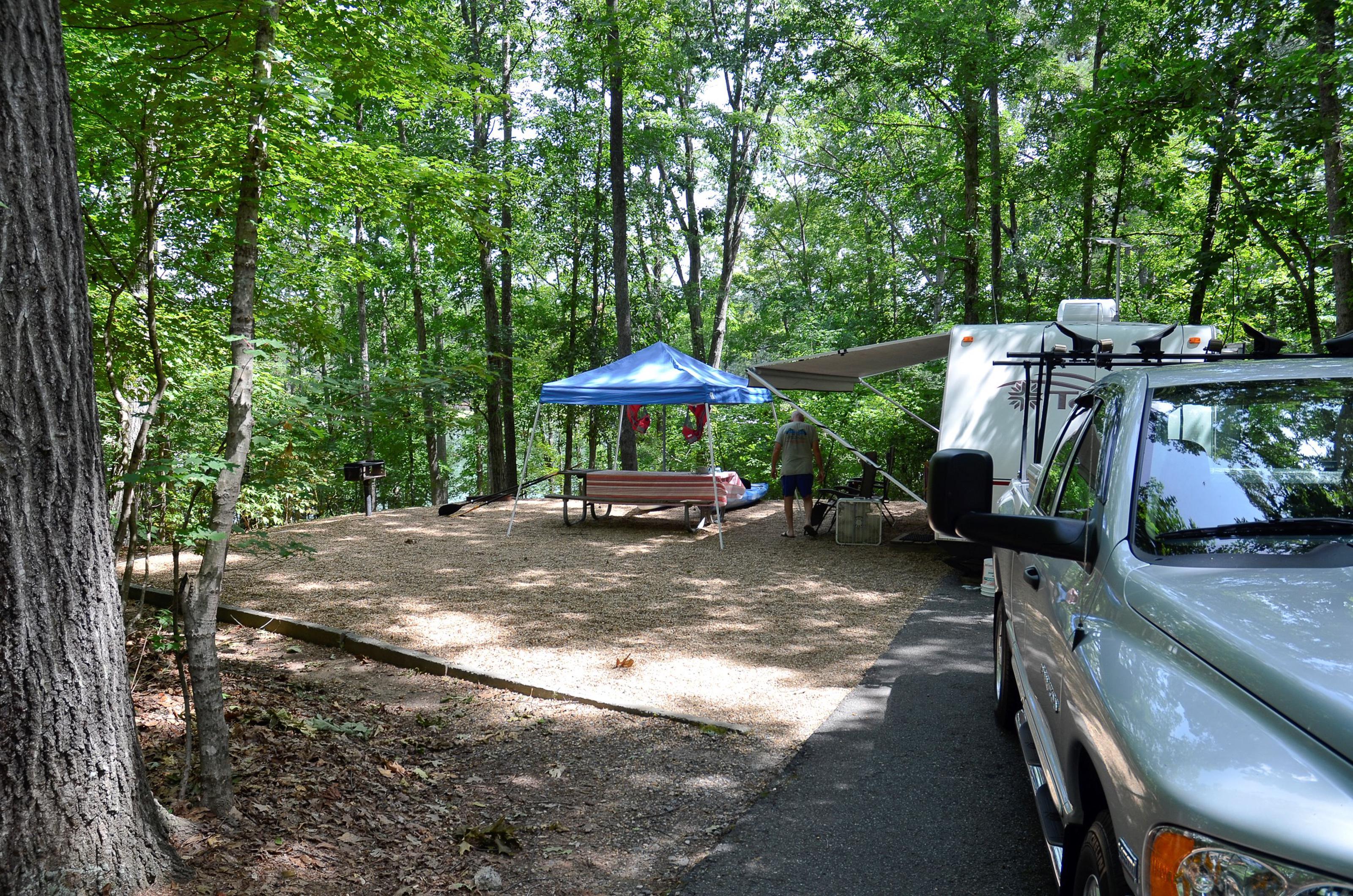 McKinney Campground Site 24
