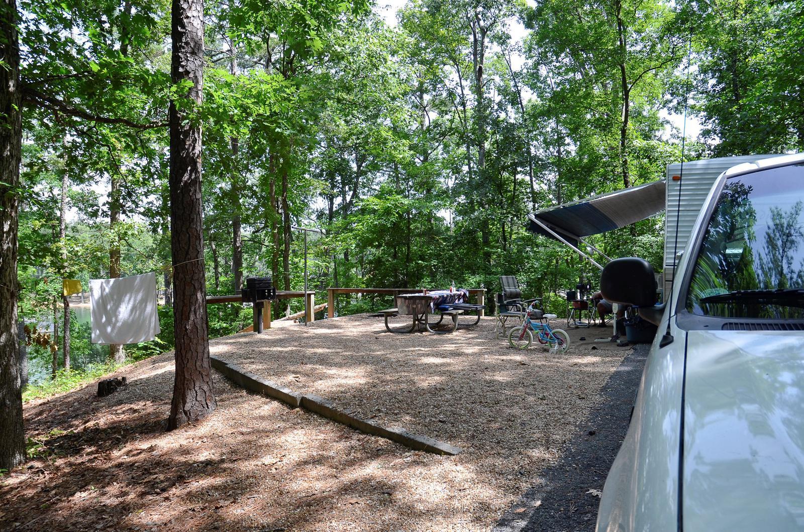 McKinney Campground Site 25