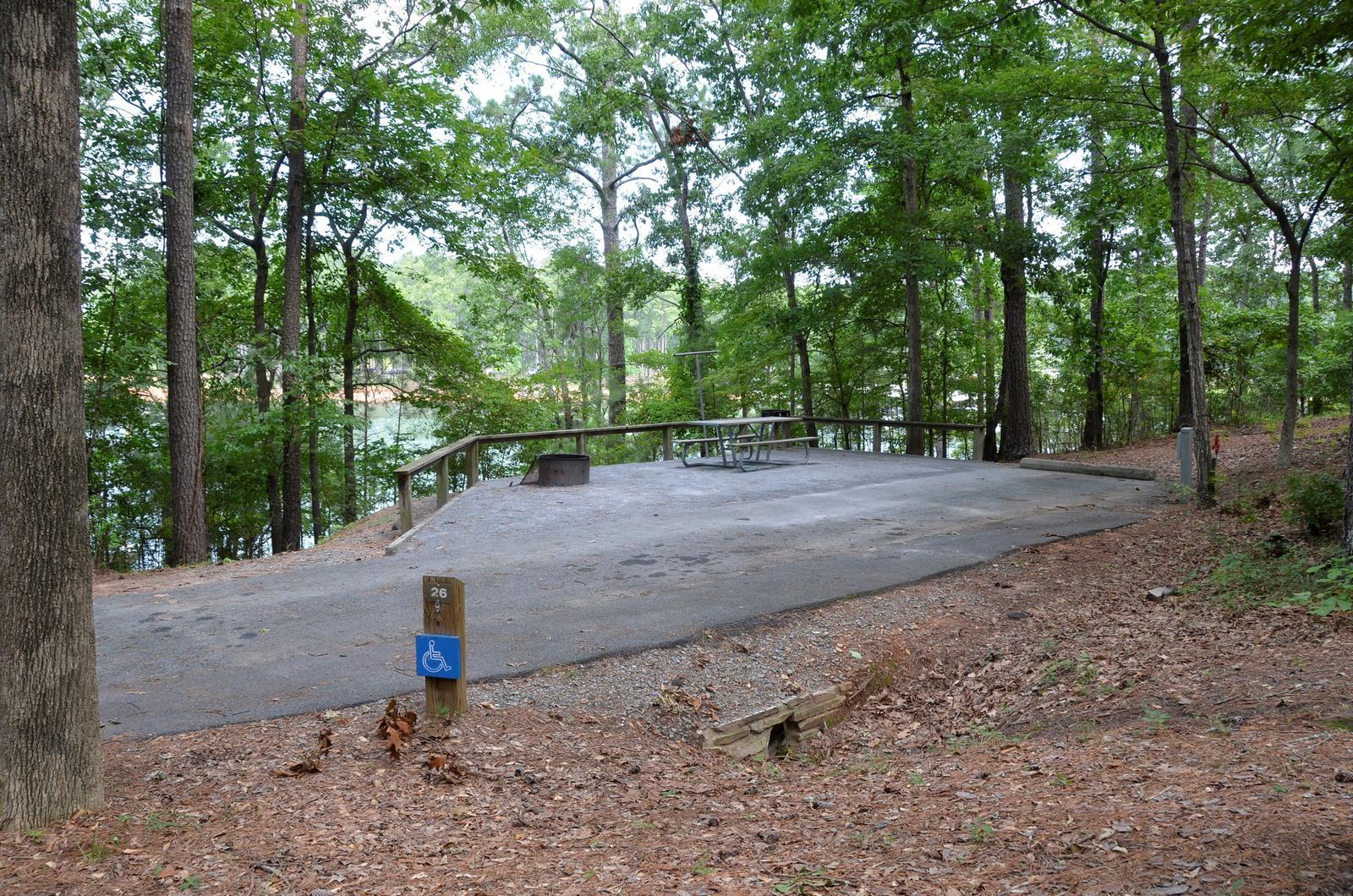 McKinney Campground Site 26