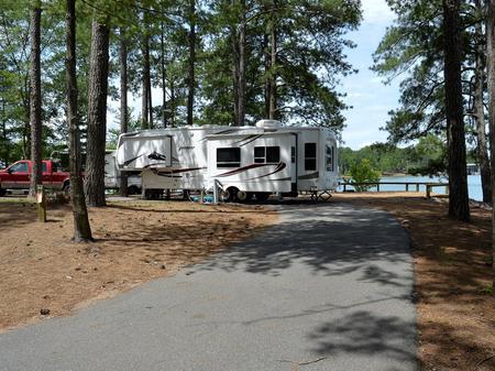 McKinney Campground Site 34