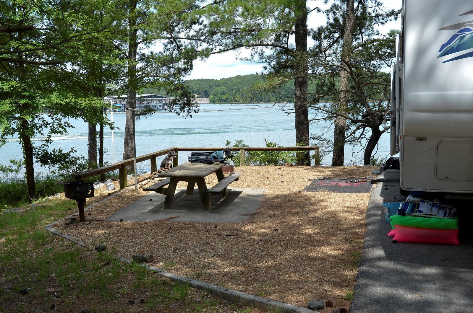 McKinney Campground Site 35