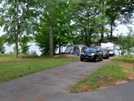 Victoria Campground Site 22.Victoria Campground Site 22