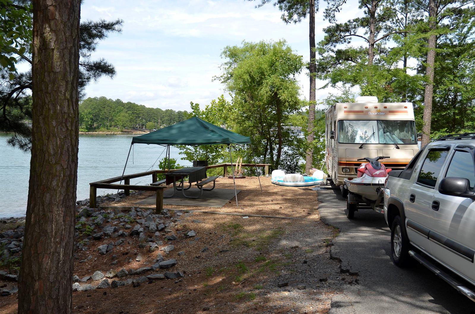 McKinney Campground Site 36