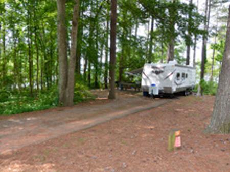 Victoria Campground Site 26.Victoria Campground Site 26
