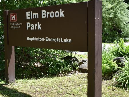 Elm Brook Park Sign