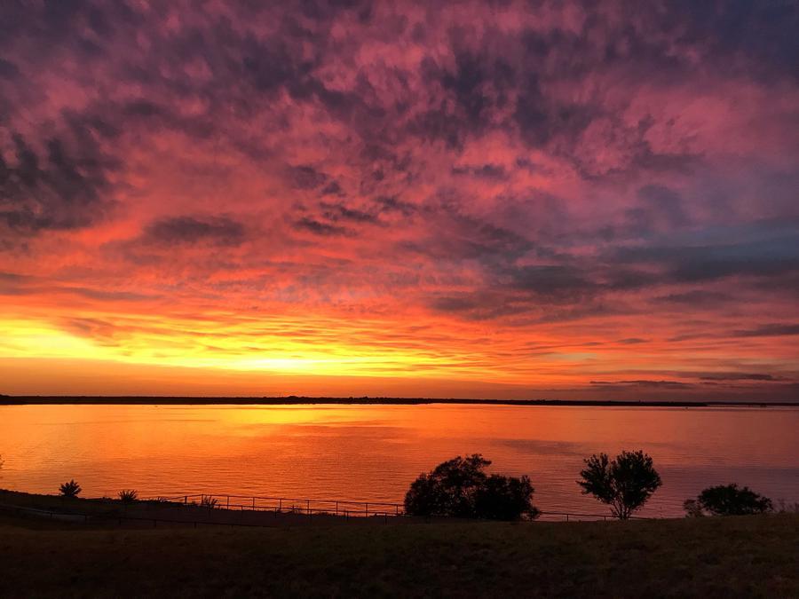 Sunset on Waco Lake