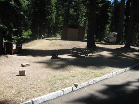 Site 42, Partial Shade, Near Restrooms