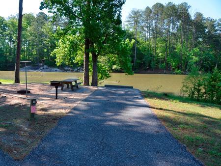 Driveway slopePayne Campground, campsite #48