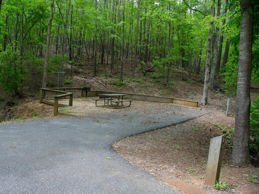Upper Stamp Creek Campground, campsite 3