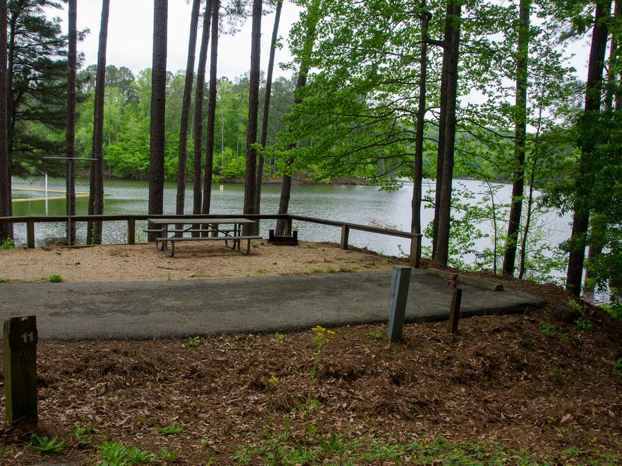 Upper Stamp Creek Campground, campsite 11