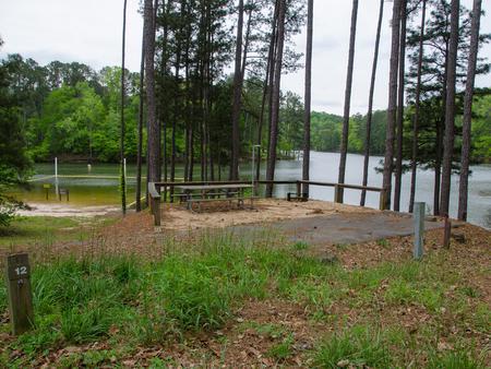 Upper Stamp Creek Campground, campsite 12