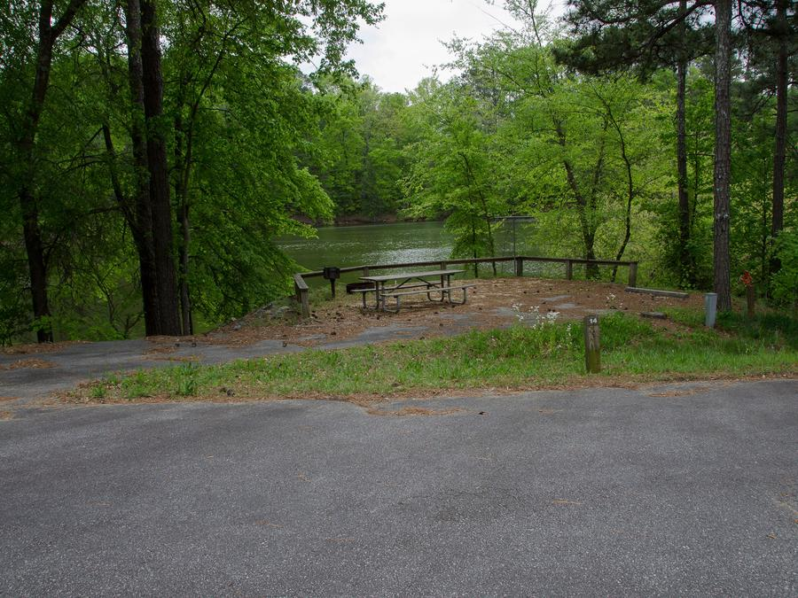 Upper Stamp Creek Campground, campsite 14