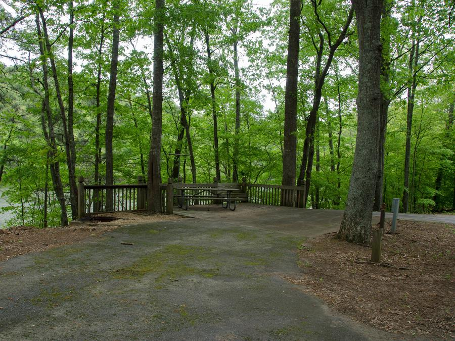 Upper Stamp Creek Campground, campsite 16
