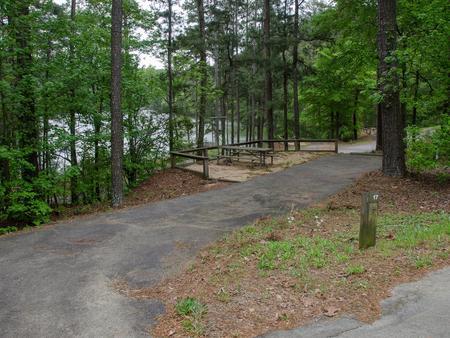 Upper Stamp Creek Campground, campsite 17