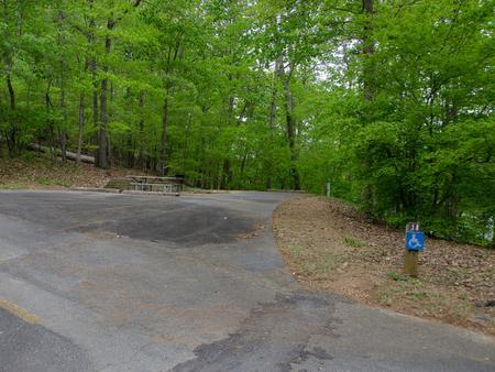 Upper Stamp Creek Campground, campsite 18