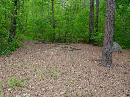 Upper Stamp Creek Campground, campsite #19