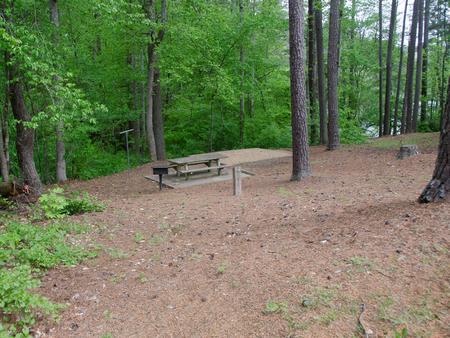 McKaskey Creek CG, campsite 001McKaskey Creek Campground, campsite 1.
