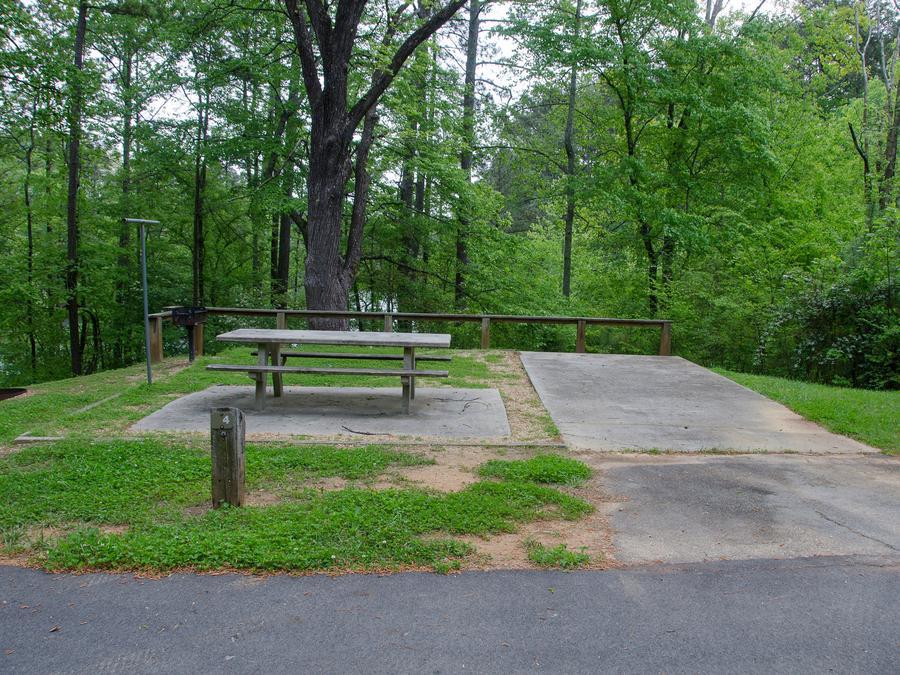 Mckaskey Creek Campground, campsite 4McKaskey Creek Campground, campsite 4