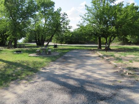 Site 28 Longdale CampgroundLongdale Campground site 28