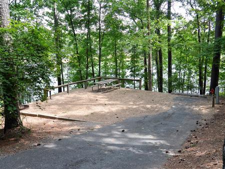 McKinney Campground Site 21