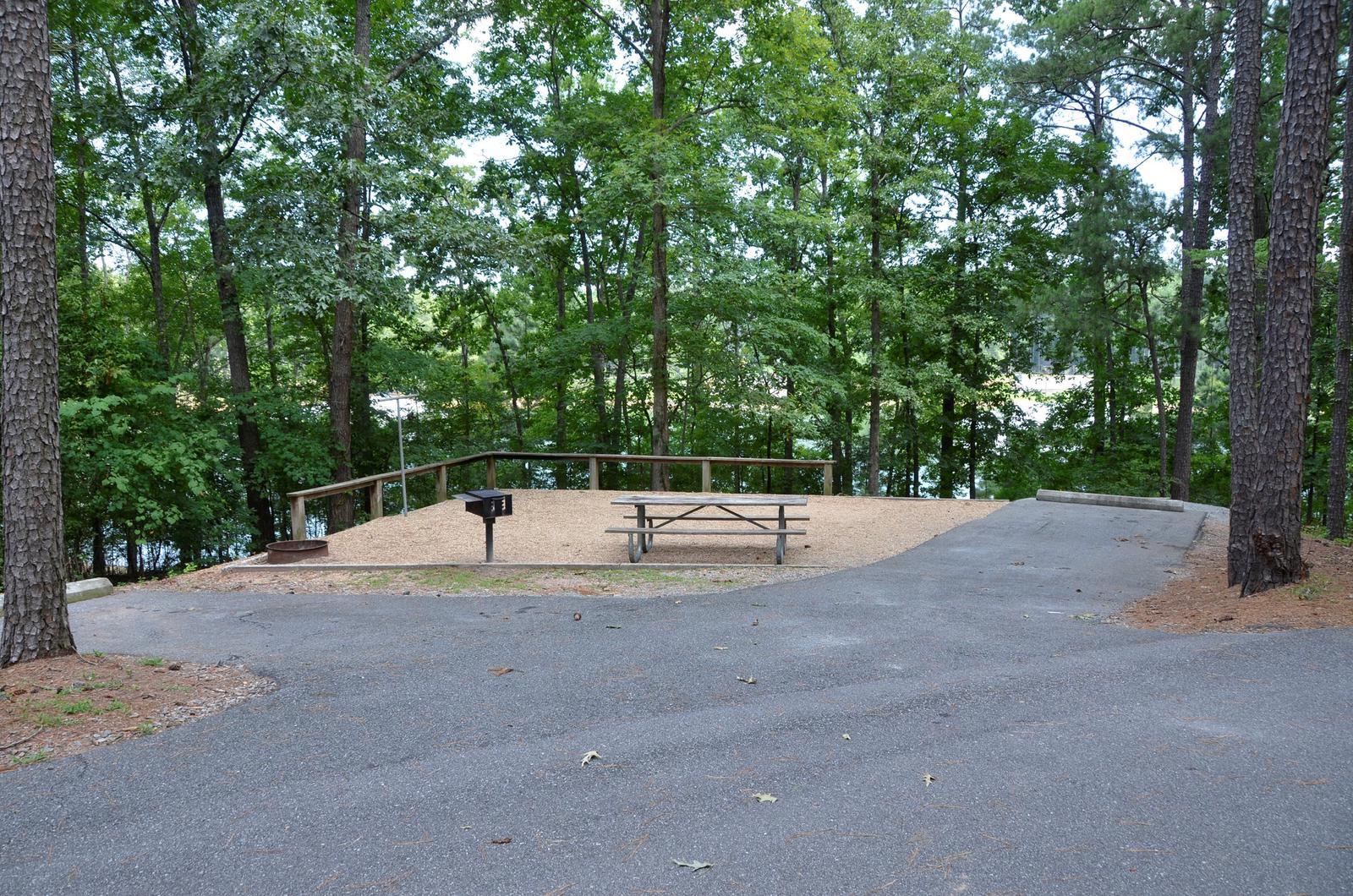 McKinney Campground Site 22