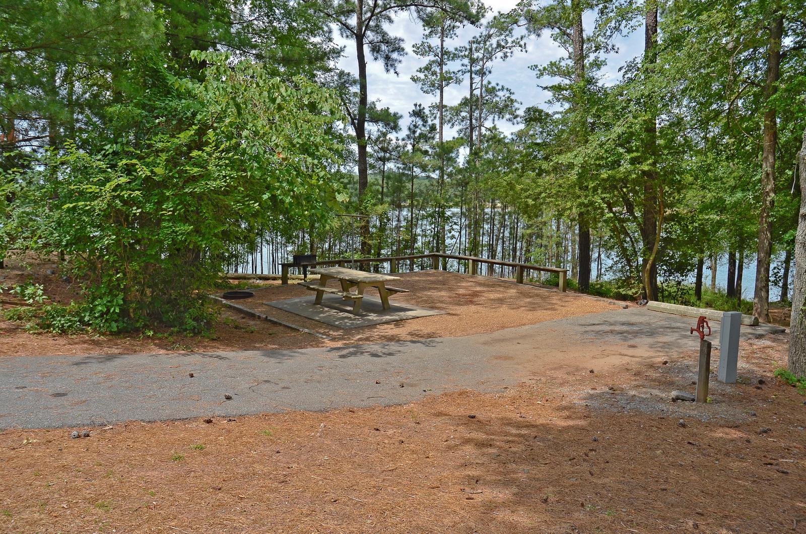 McKinney Campground Site 38