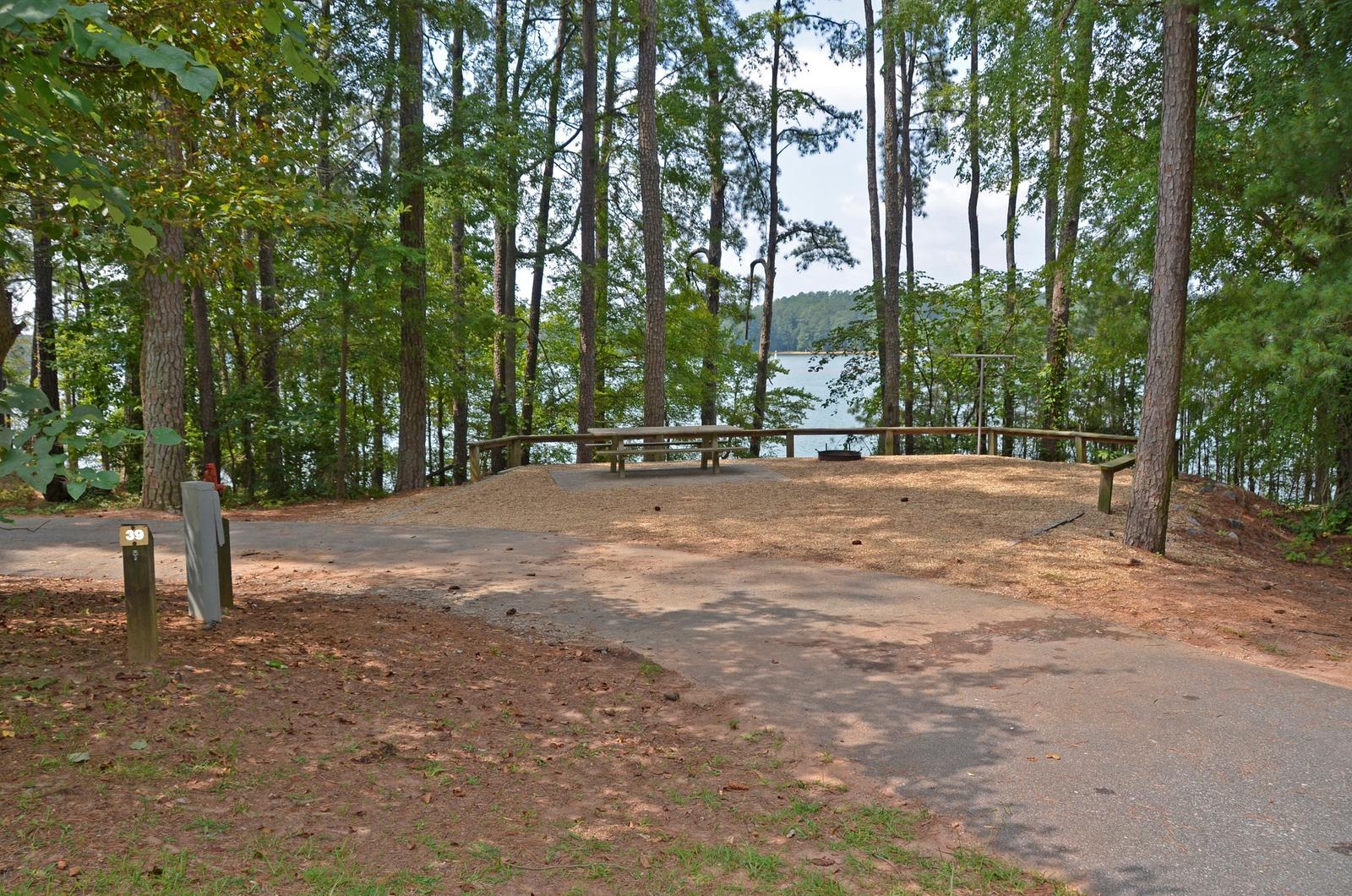 McKinney Campground Site 39