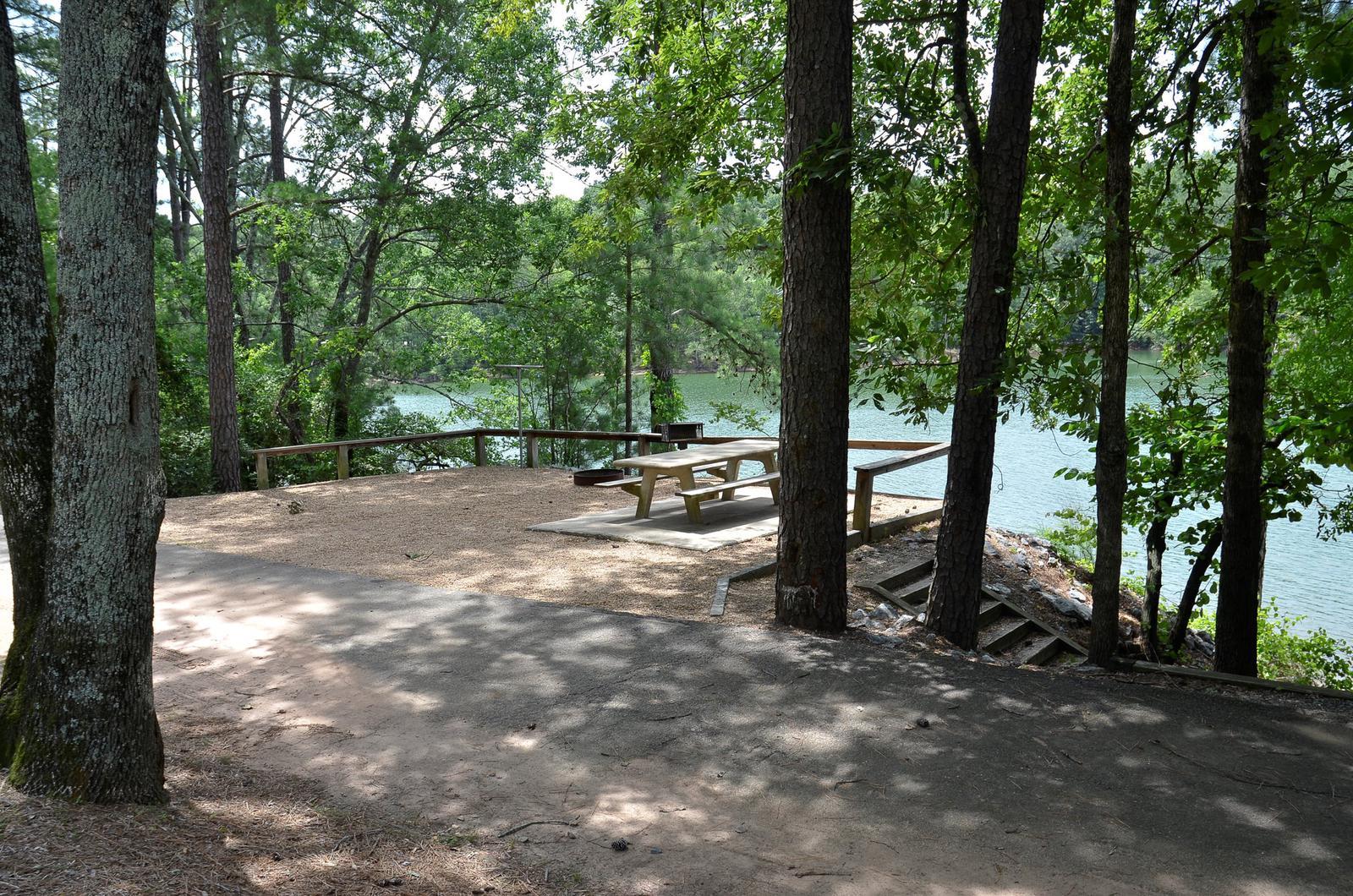McKinney Campground Site 47