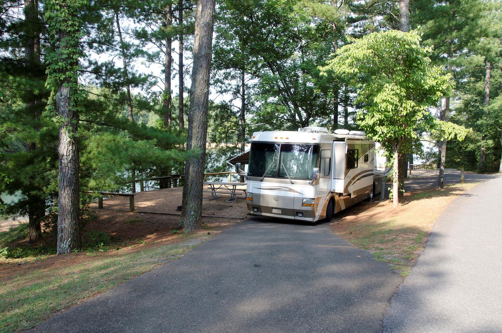 McKinney Campground Site 52