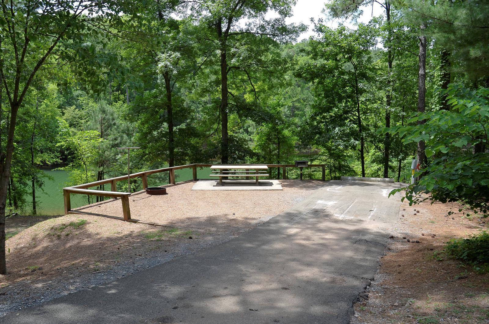 McKinney Campground Site 54
