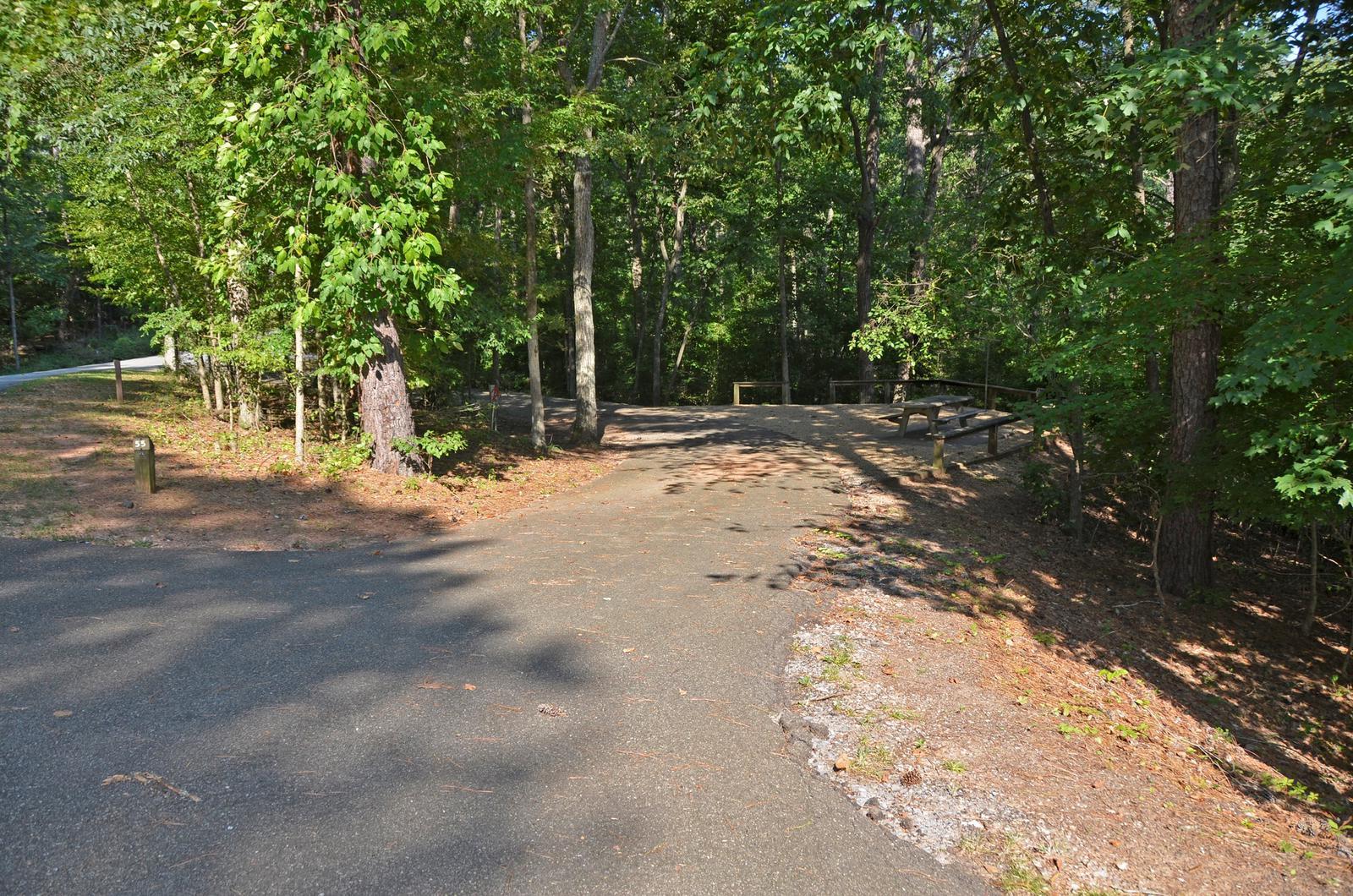 McKinney Campground Site 55