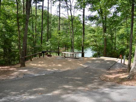 McKinney Campground Site 56