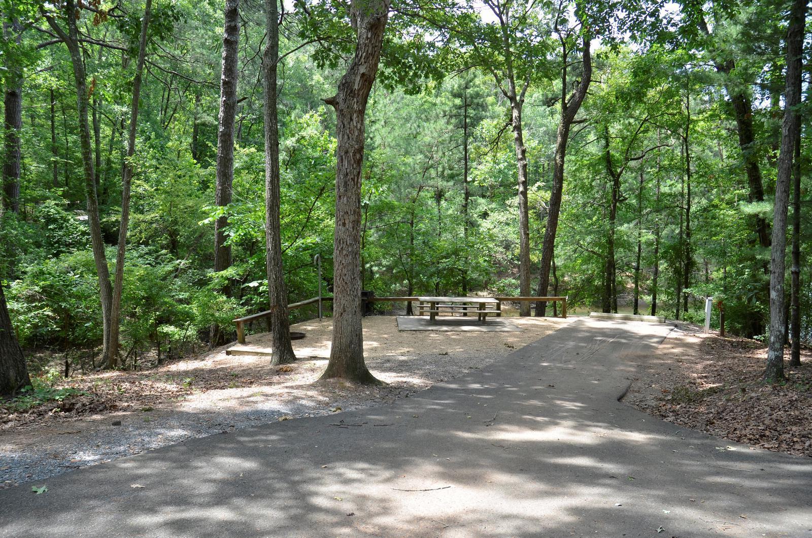 McKinney Campground Site 57