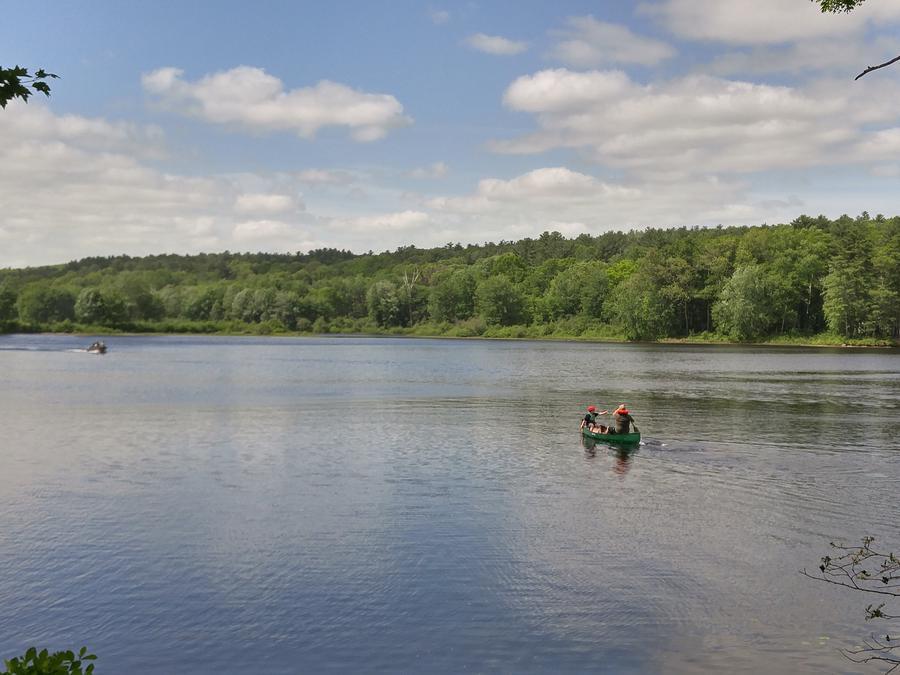 Buffumville LakeSouth end view of Buffumville Lake