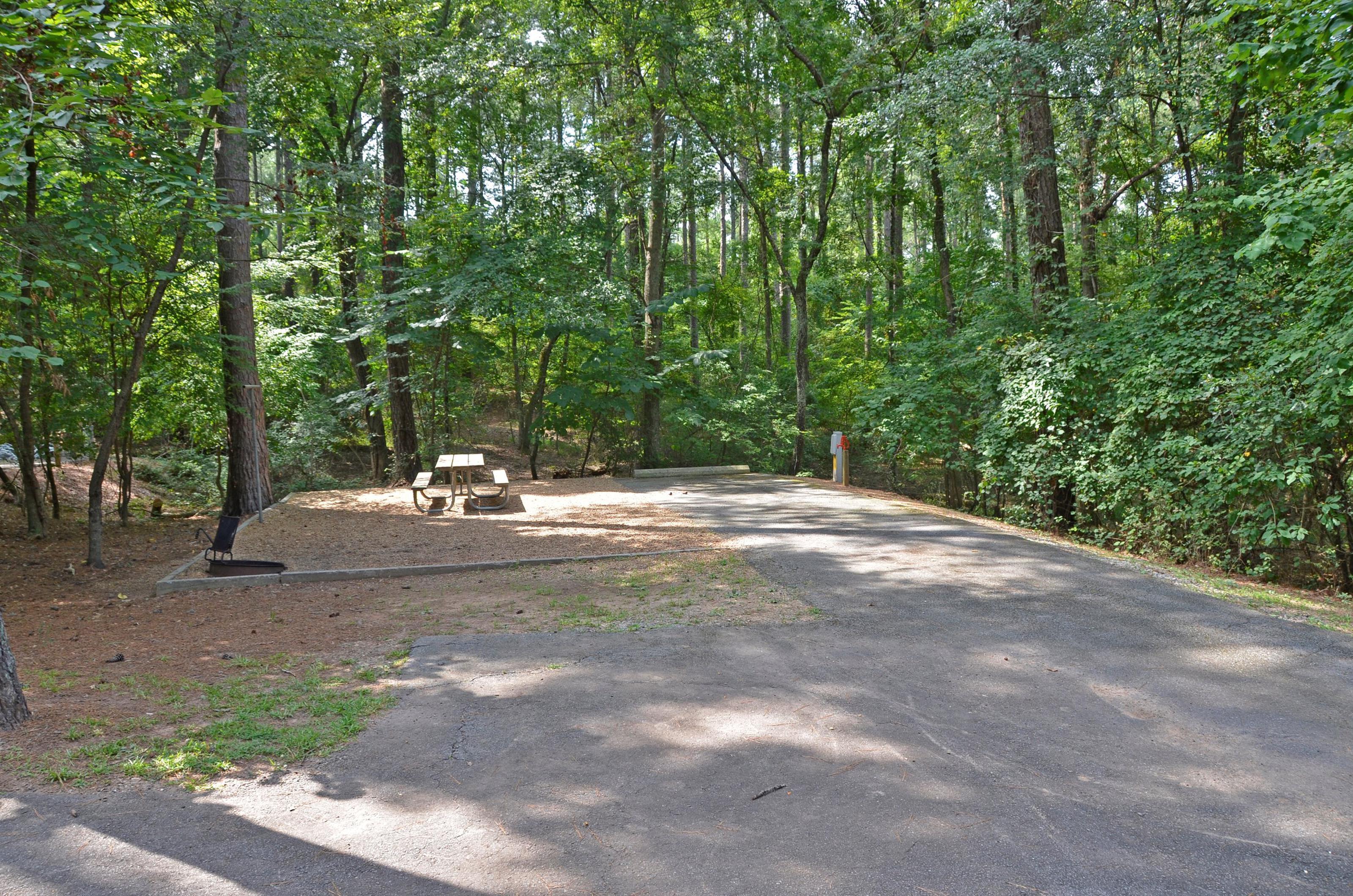 McKinney Campground Site 72