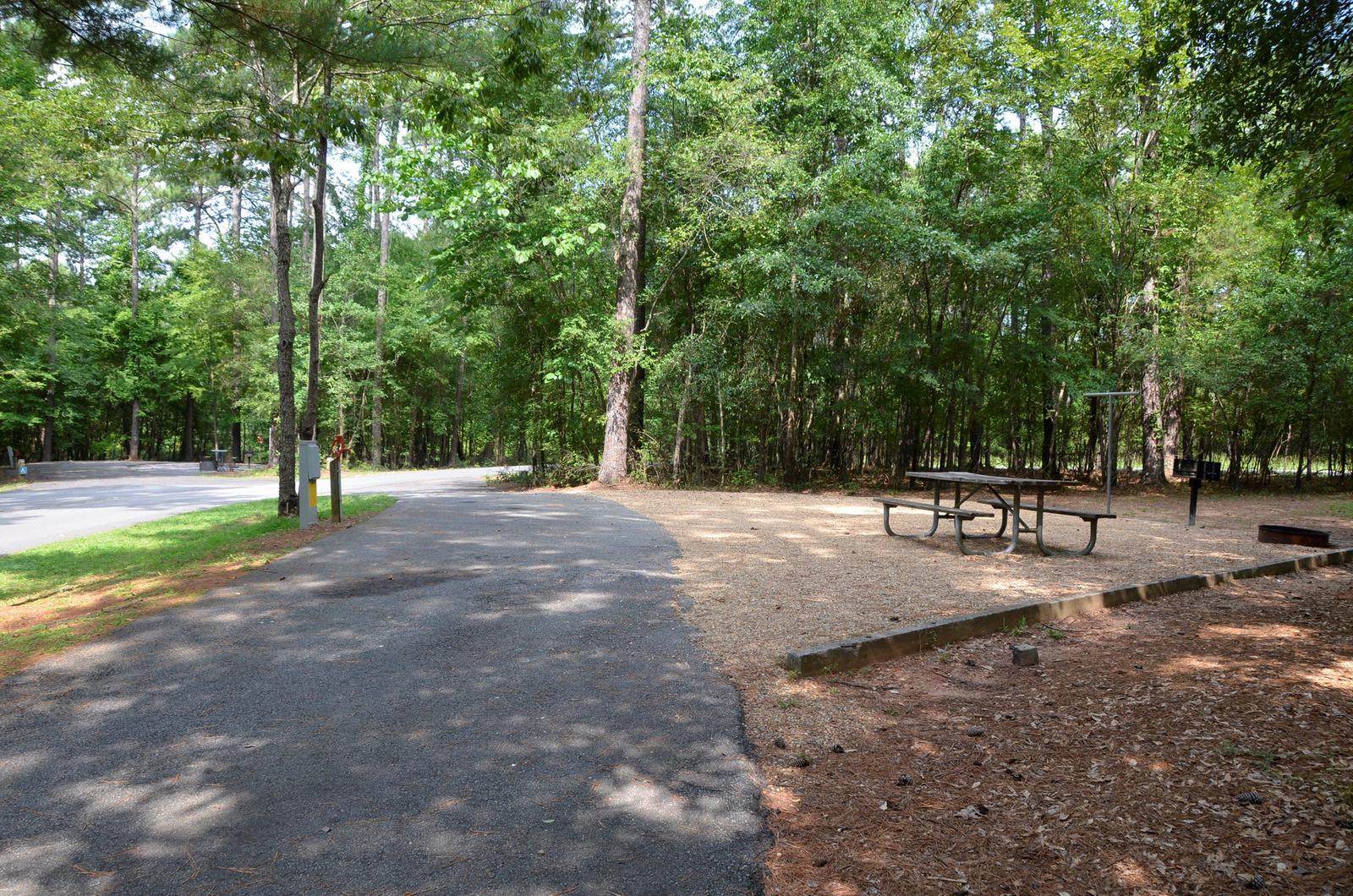 McKinney Campground Site 74