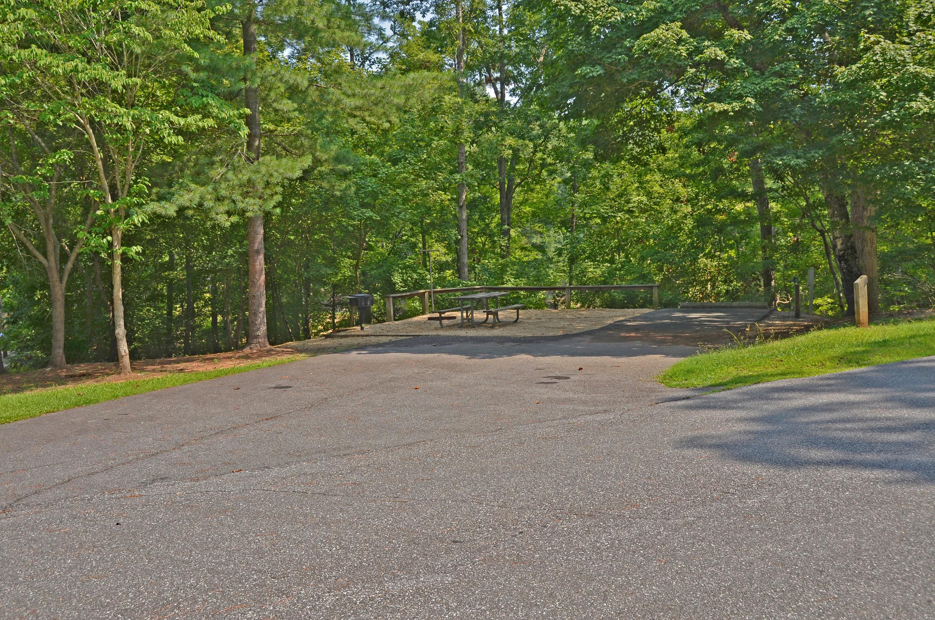 McKinney Campground Site 81