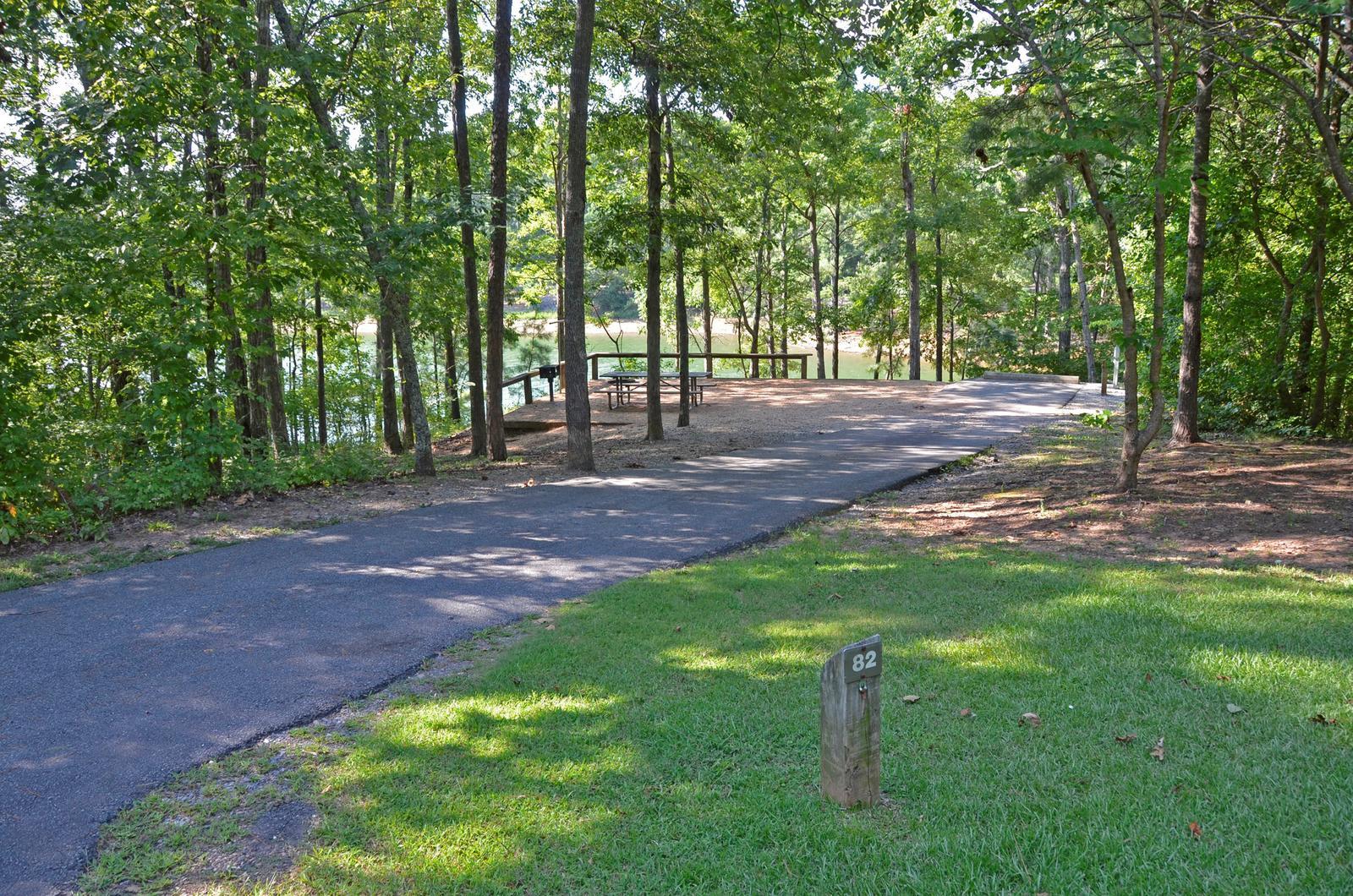McKinney Campground Site 82