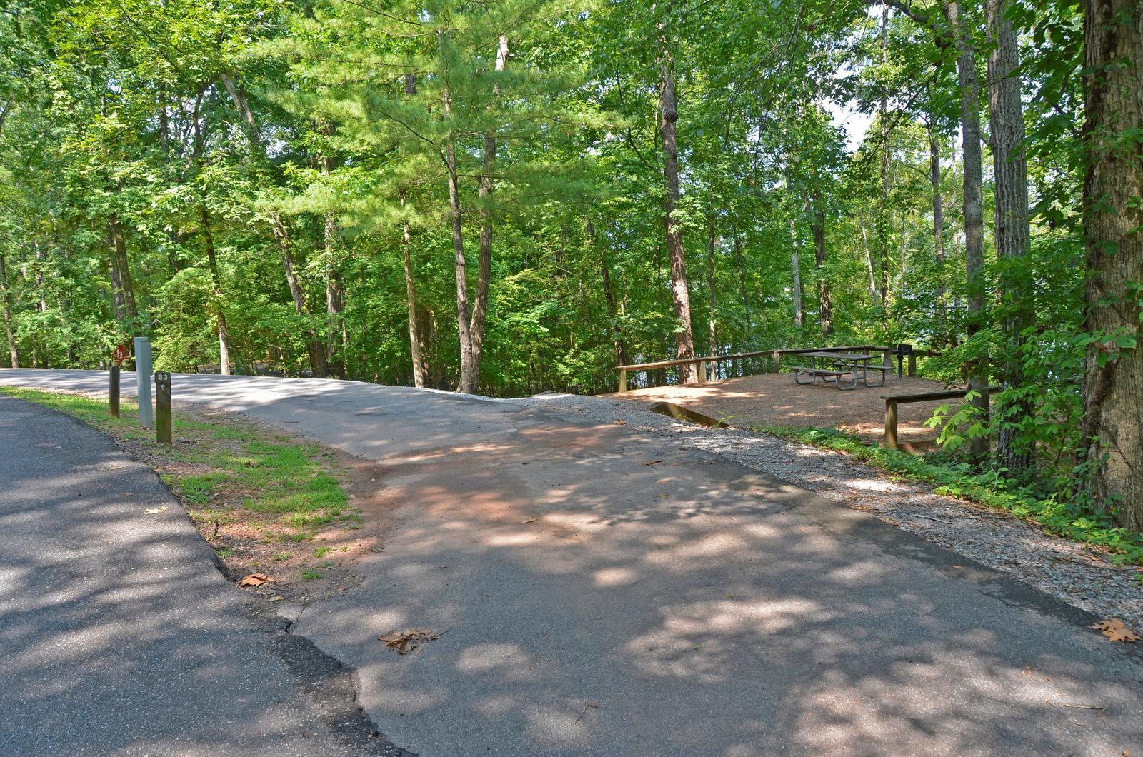McKinney Campground Site 83