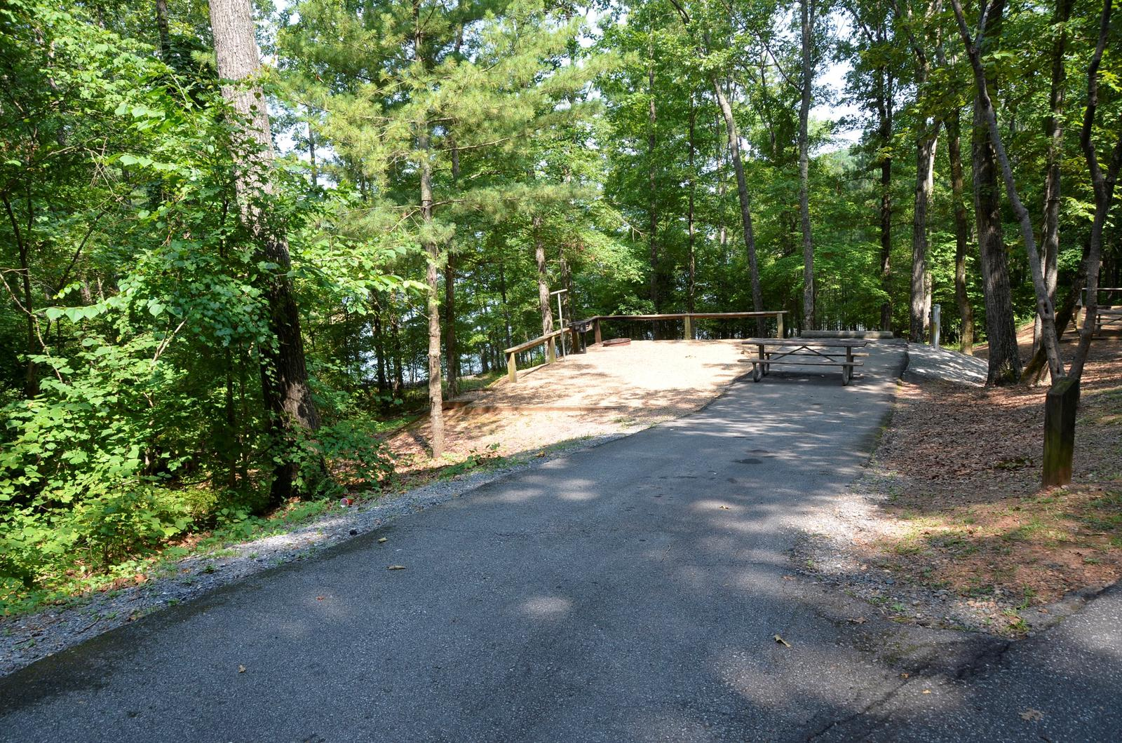 McKinney Campground Site 85