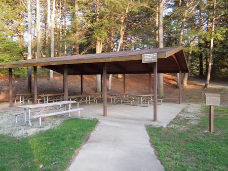 Buffumville Lake Park Shelter site 001